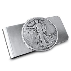 Other - Authentic Walking Liberty Half Dollar Money Clip.